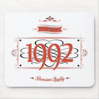Since 1992 (Red&Black) Mouse Pad