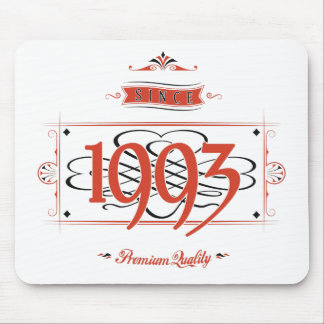 Since 1993 (Red&Black) Mouse Pad