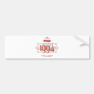 Since 1994 (Red&Black) Bumper Sticker