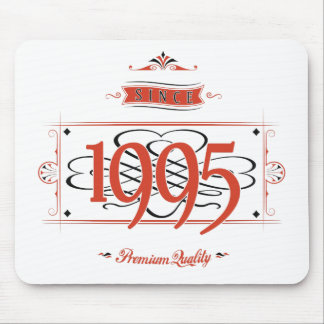 Since 1995 (Red&Black) Mouse Pad