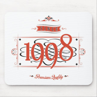 Since 1998 (Red&Black) Mouse Pad