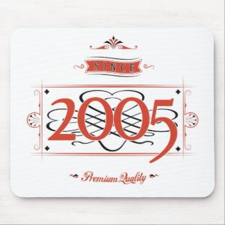 Since 2005 (Red&Black) Mouse Pad