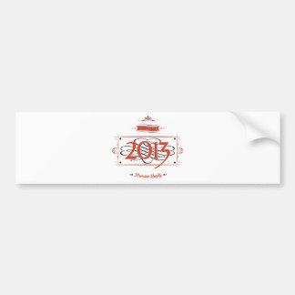 Since 2013 (Red&Black) Bumper Sticker