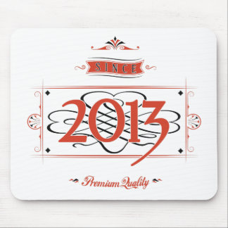 Since 2013 (Red&Black) Mouse Pad