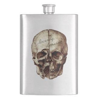 Sincerely Leonardo Skull Flask