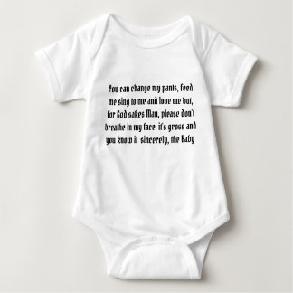Sincerely the Baby Baby Bodysuit
