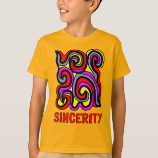 """Sincerity"" Kids' Hanes TAGLESS® T-Shirt"