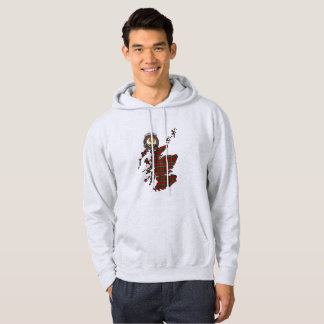Sinclair Clan Badge Adult Hoodie