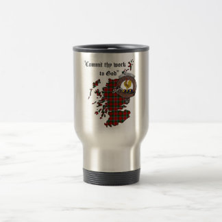 Sinclair Clan Badge Travel Mug