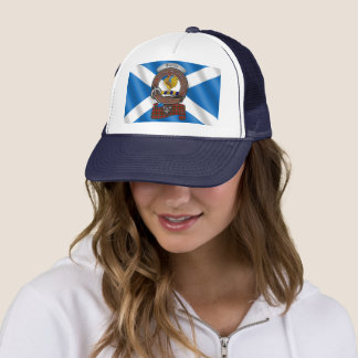 Sinclair Clan Badge Trucker Hat