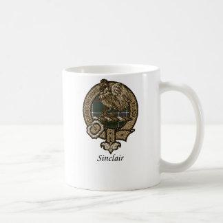 Sinclair Clan Crest Coffee Mug