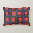 Sinclair clan Plaid Scottish tartan Accent Pillow