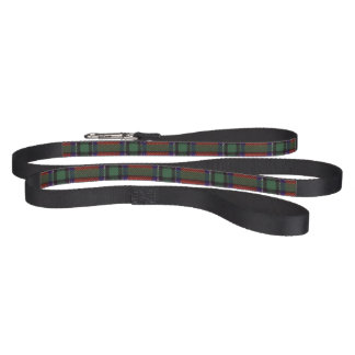 Sinclair clan Plaid Scottish tartan Dog Leash