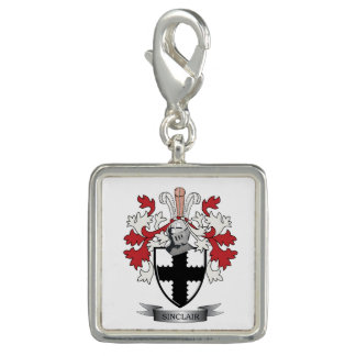 Sinclair Family Crest Coat of Arms Charm
