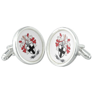 Sinclair Family Crest Coat of Arms Cufflinks
