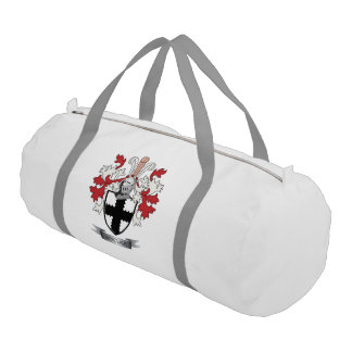 Sinclair Family Crest Coat of Arms Gym Bag