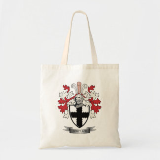 Sinclair Family Crest Coat of Arms Tote Bag