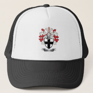 Sinclair Family Crest Coat of Arms Trucker Hat