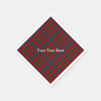 Sinclair Tartan Plaid Paper Napkins