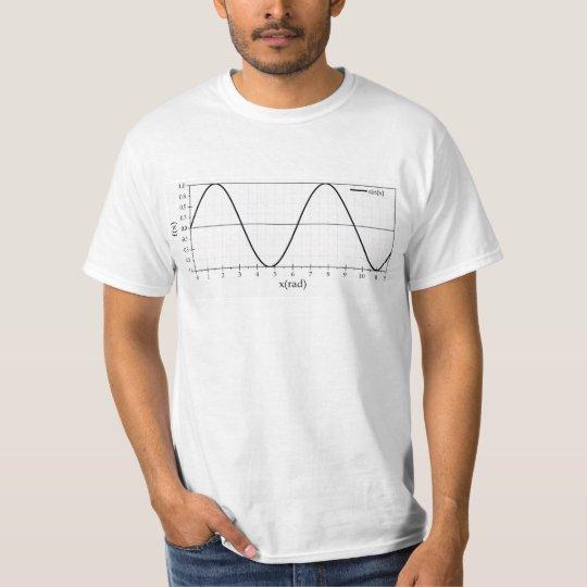 sine function t-shirt