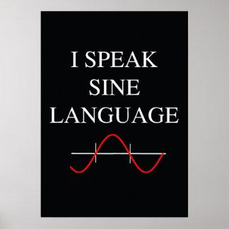 Sine Language Poster