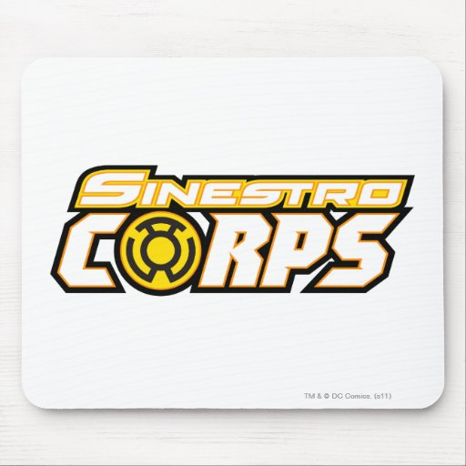 Sinestro Corps Mouse Pads