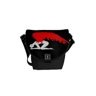 Sinful Angel Courier Bag