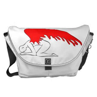 Sinful Angel Messenger Bag