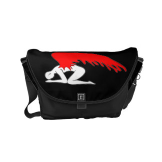 Sinful Angel Messenger Bags