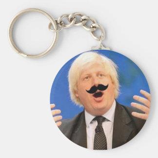 Sing-a-long Boris Basic Round Button Keychain