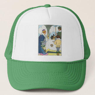 Sing a song of sixpence, A pocket full of rye Trucker Hat