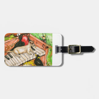 Sing Along-Luggage tag