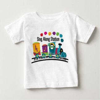Sing Along Station Baby T-Shirt