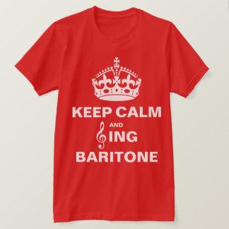 Sing Baritone T-Shirt