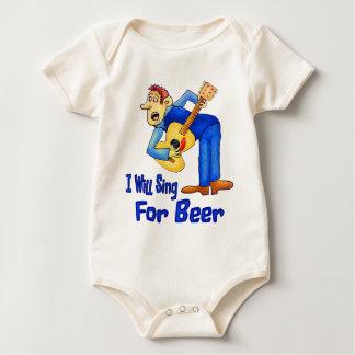 Sing For Beer Baby Bodysuit