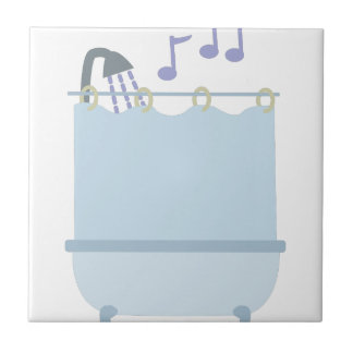 Sing In Shower Tile
