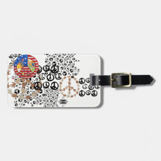 Sing Loudly Luggage Tag