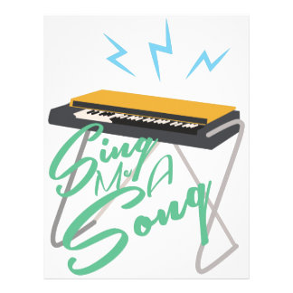 Sing Me A Song Custom Letterhead