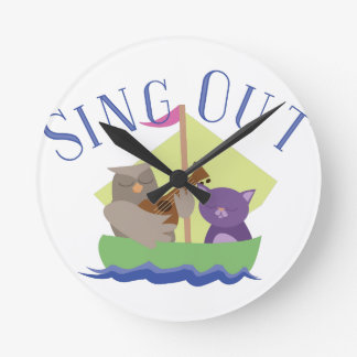 Sing Out Clock