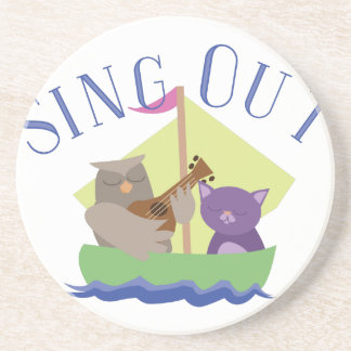 Sing Out Drink Coasters