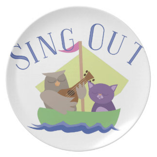 Sing Out Plates