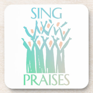 Sing Praises Choir Coaster