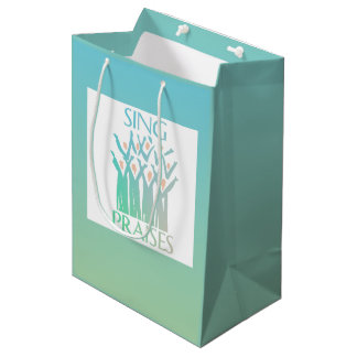 Sing Praises Choir Medium Gift Bag
