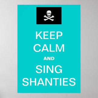 Sing Shanties! Poster
