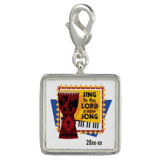 Sing to the Lord a New Song Photo Charms