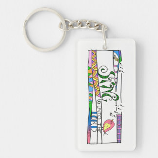 Sing unto the Lord keychain