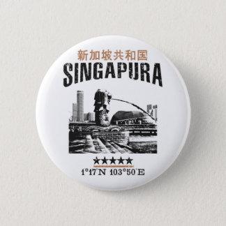 Singapore 2 Inch Round Button