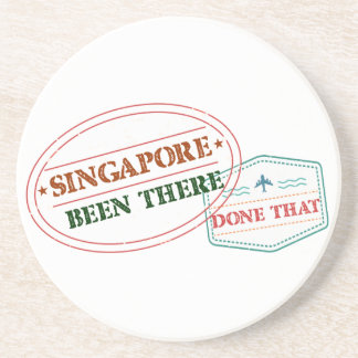 Singapore Been There Done That Coaster