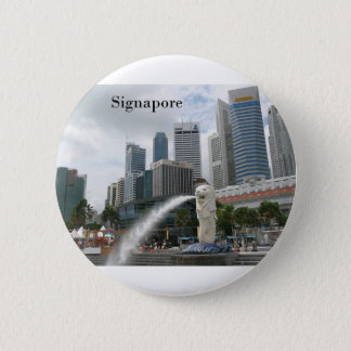 singapore (by St.K) 2 Inch Round Button