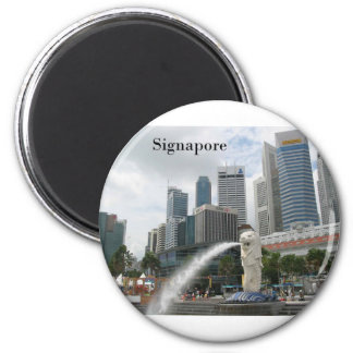 singapore (by St.K) Magnet
